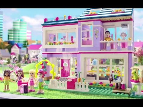 Lego Friends Olivia And Emmas House Review Youtube Salut
