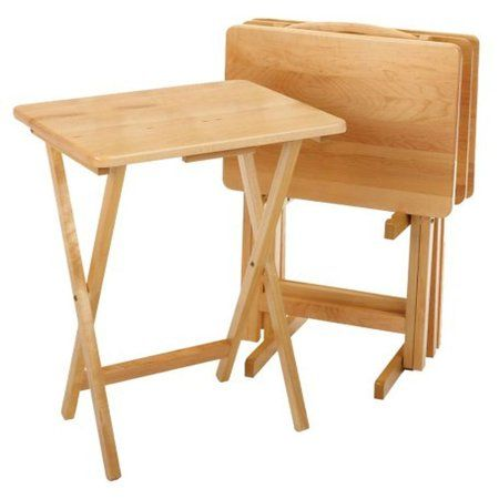 Home In 2019 Tv Trays Winsome Wood Tv Tray Table