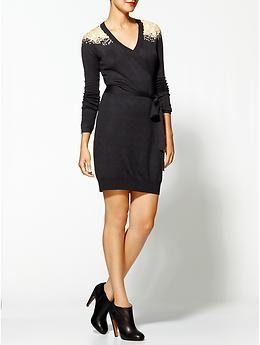 Embelished Shoulder Dress, THML Clothing   Piperlime