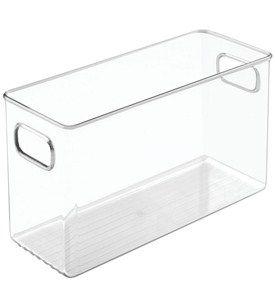 4 X 6 X 10 Inch Plastic Storage Bin Image Bathroom Storage Cabinet Storage Cabinets Plastic Storage Bins