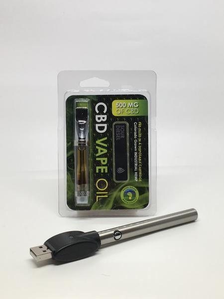 $59 95 - 500mg Pure Hemp Oil Cartridge & Pen (Select from