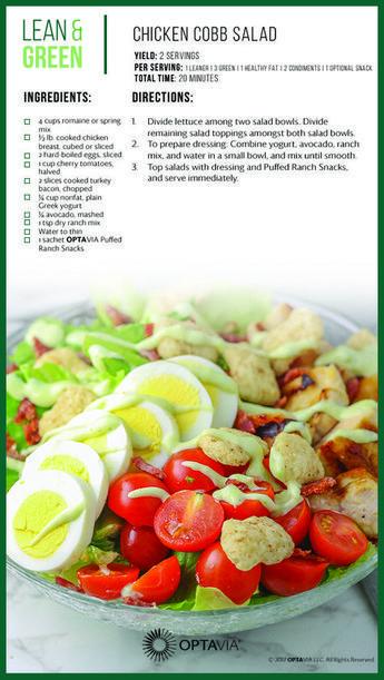 Recipes for Octavia diet