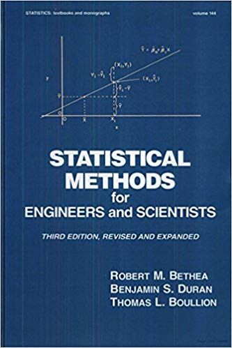 Statistical Methods For Engineers And Scientists 3rd Edition
