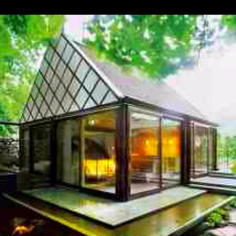 Sauna house in the woods...