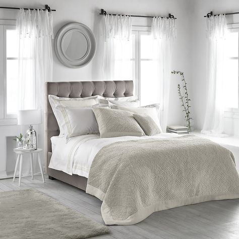 Brompton Bed Linen Collection Bedroom The White Company For