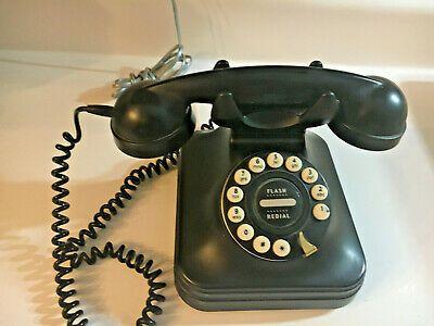 Ebay Sponsored Pottery Barn Grand Phone Retro Old Style Black Push Button Rotary Telephone Phone Pottery Barn Rotary Phone,Anime Black And White Wallpaper Phone