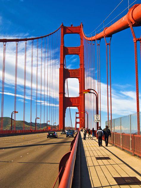 Conoce Todo Sobre el Puente Rojo de San Francisco, El Golden Gate Bridge   Información y Videos