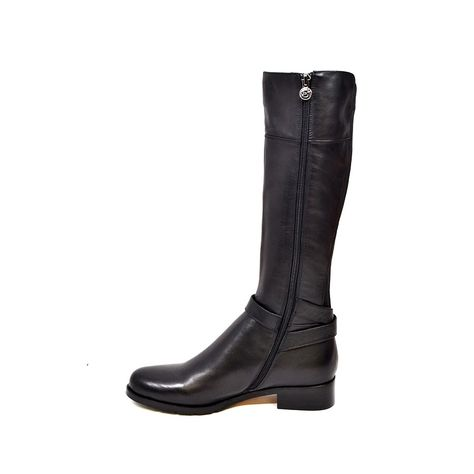 372f0efe4c SoleMani Women's Gabi Slim 13 Calf Black Leather Boot [gabi] - $198.70 : Slim  and Skinny Calf Boots | Narrow Calf Boot − SlimCalfBoot