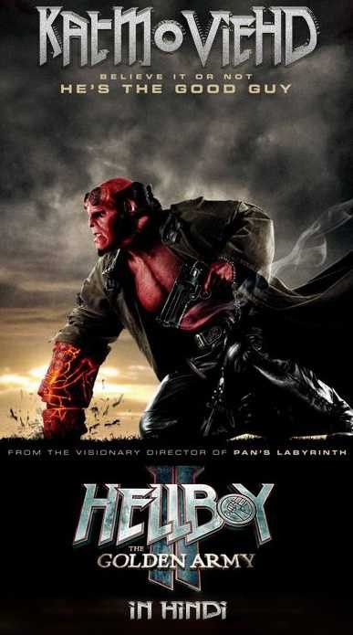 Hellboy 2 The Golden Army 2008 Bluray 480p 720p 1080p Dual