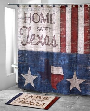 Avanti Home Sweet Texas Tissue Cover Bedding Rustic Shower