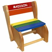 Holgate Toys Kids Wooden Step Stool Chair Made in USA! Our