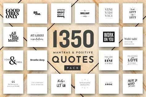1350+ Quotes: Ultimate Quote Pack