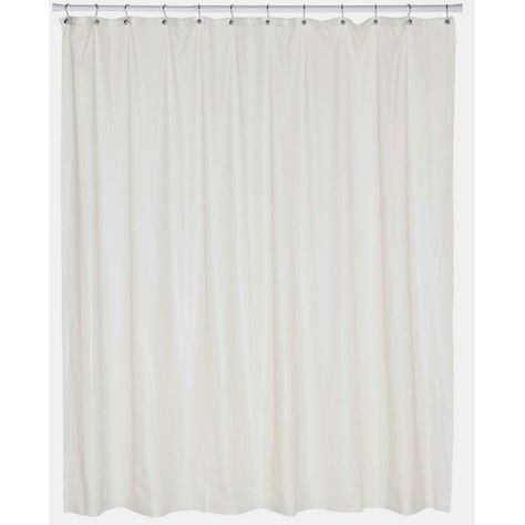 Carnation Home Fashions Extra Wide Vinyl Shower Curtain Liner