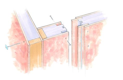 Sip Corner And Spline Joints Structural Insulated Panels Sips Panels Paneling