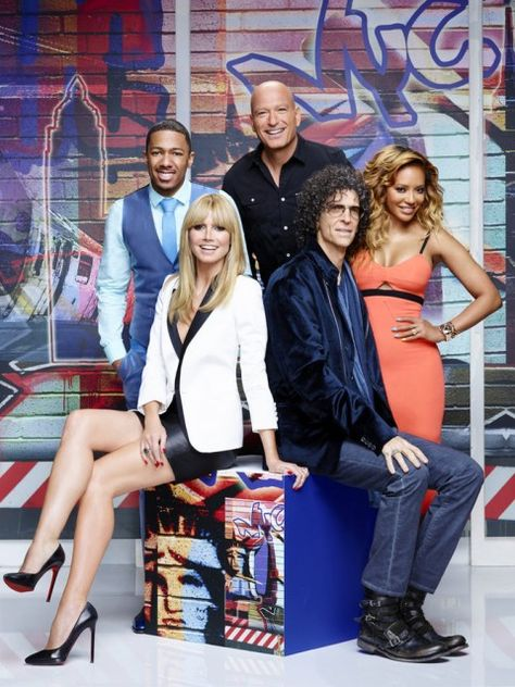 Mel B from Spice Girls is judge on Americas Got Talent