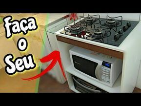 Economizei 500 Reais Fazendo Para Fogao Cooktop Um Balcao