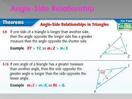 Image Result For Angles Sides Triangle Relationship Relationship Graduate School Sides