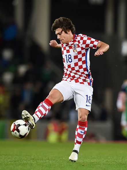 Ante Coric Dinamo Zagreb Croatia Young Football Players Football Players Zagreb Croatia