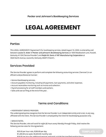 13 Free Agreement Between Two Parties Templates Edit Download Template Net Agreement Templates Word Doc