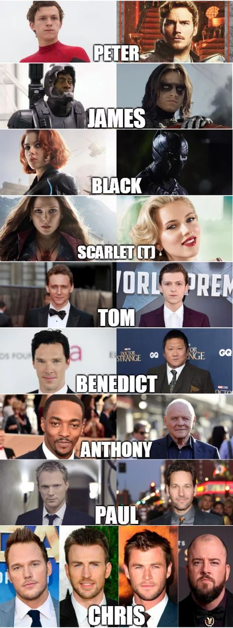 Why Marvel casting...people? What are they called? Whatever. Not the point. (The point: WHY?)