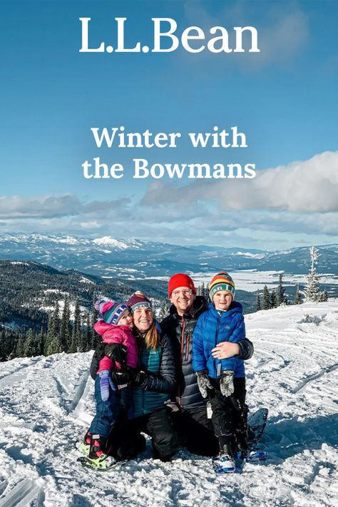 We asked L.L.Bean Ambassadors and one of our favorite outdoor families, to share how they get outside during the holiday and winter seasons.