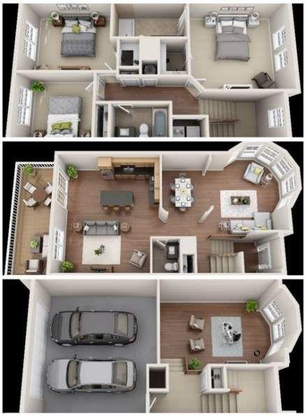 43 Ideas For House Layout Design Floor Plans Basements Sims House Plans House Plans Sims House