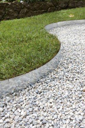 Des Allees Inspirees Pour Votre Jardin Jardin En Gravier Amenagement Jardin Paysager Gravier Blanc