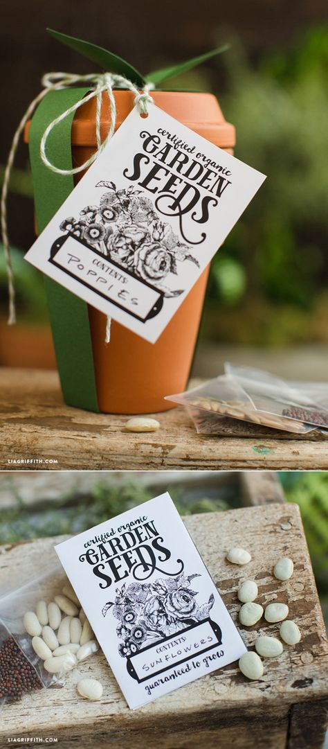 #EarthDay #EarthDayCrafts #Seedpackets #Printable www.LiaGriffith.com: