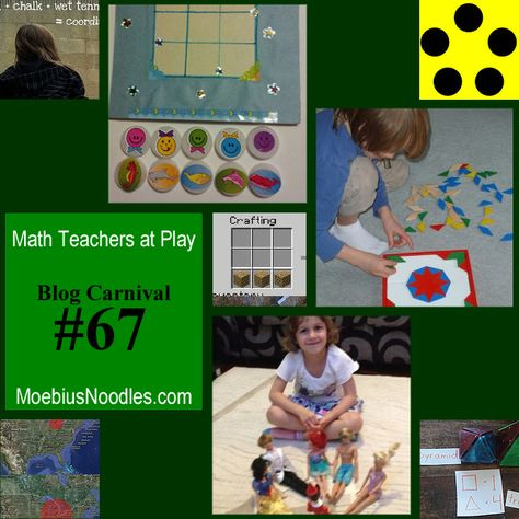 Math Teachers at Play #67: Making deep concepts accessible is an exciting, challenging quest! The post starts with the video about proofs and creativity: what makes us...