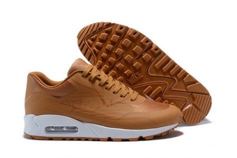 on sale 8214a d97b9 Men Nike Air Max 90 NS GPX AJ7182-006 Dark Wheat Running Shoe
