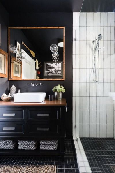 Dark Walls Bathroom Trends 2021 Bathroom Interior Trends Color 2021 Bathroom Trends Modern Small Bathrooms Bathrooms Remodel