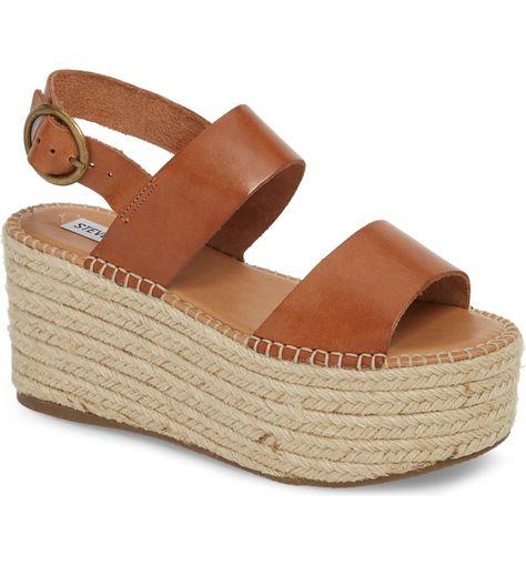 popular brand great deals 2017 popular stores Steve Madden Cali Espadrille Platform Sandal (Women | Espadrilles ...