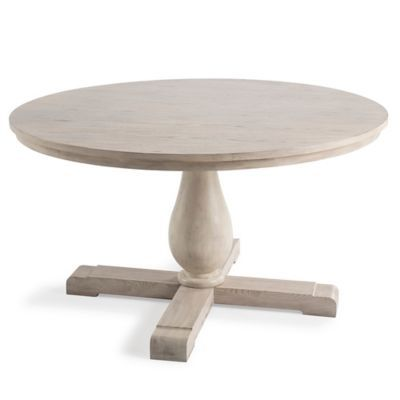 Complete Your Kitchen Or Dining Room With The Bee Willow Home Wood 55 Inch Round Dining Table It Featu Pedestal Dining Table Dining Table Round Dining Table