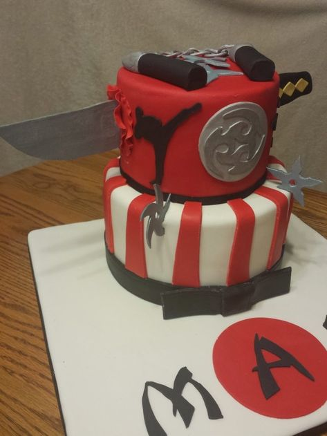 23+ Excellent Image of Ninja Birthday Cake - entitlementtrap com