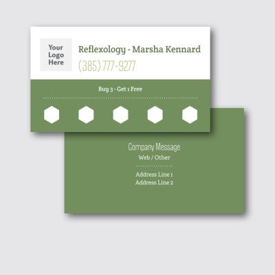 Has Logo Photo Area Loyalty Cards Templates Designs Vistaprint Loyalty Card Template Business Card Design Card Design