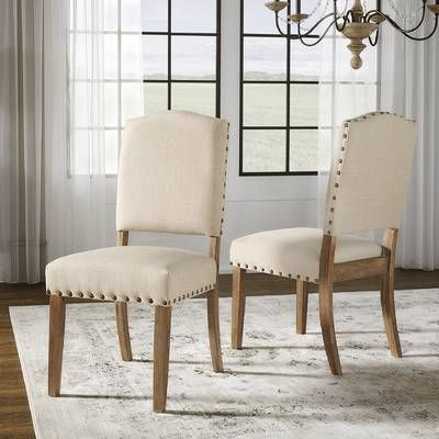 Loon Peak Magaw Solid Wood Dining Table, Wayfair Dining Room Chairs