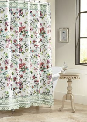 Boho Garden Shower Curtain By Jessica Simpson Garden Shower