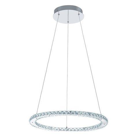 Varrazo 1 Light Led Drum Pendant Eglo