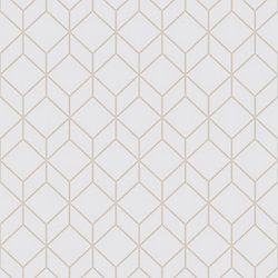 Superfresco Myrtle Geo Grey Rose Gold The Home Depot Canada Home Depot Wallpaper Silver Removable Wallpaper Grey Removable Wallpaper