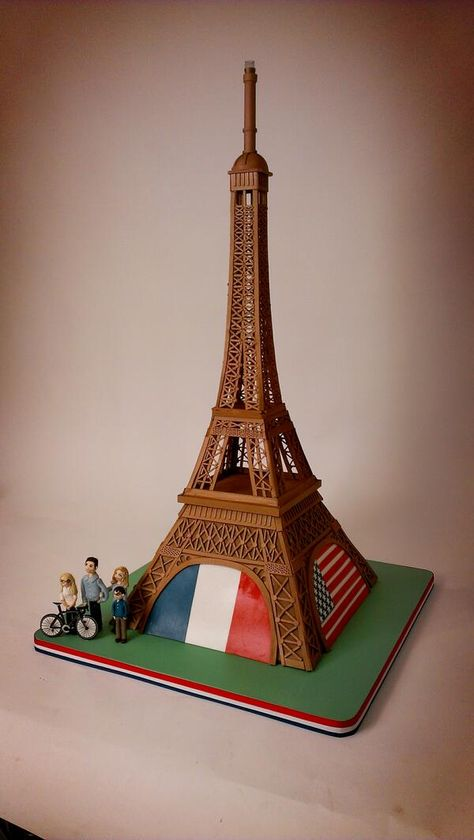 Eiffel Tower Cake by Ace of Cakes