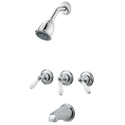 Pfister 3 Handle Thermostatic Tub And Shower Faucet With Trim