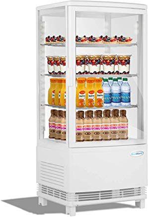 Koolmore Countertop Refrigerator Display Case Commercial Beverage