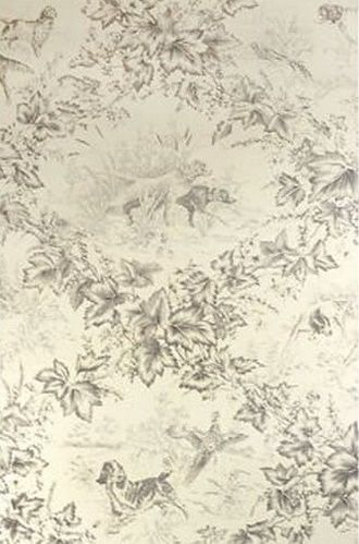 Pretty Hunting Dog Toile Wallpaper By Brunschwig Fils Perfect For Cabins Rustic Homes And Hunting Lodges Rustic House Rustic Apartment House Decor Rustic