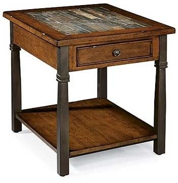Slate Top End Tables Foter End Tables With Storage End Tables
