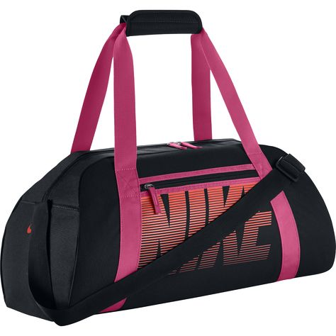 nike team training max air duffel bag red dry peas