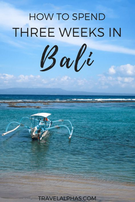 If you need some Bali travel tips, then check out this post! This three-week Bali itinerary includes the best of Bali, from beautiful places, beaches, and temples, to the best restaurants, amazing resorts, and things to do outdoors like biking, hiking, and rafting. Included in this itinerary are Ubud, Pemuteran, Seminyak, Nusa Penida, Jimbaran, and Uluwatu. After following this itinerary and spending three weeks in Bali, you will experience the best of everything Bali has to offer!