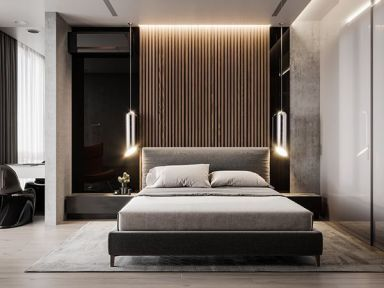 Have You Ever Think The Hundreds Of Details That Each Bedroom Hotel Can Have Get Inspired On Pullcast E Modern Guest Bedroom Luxurious Bedrooms Modern Bedroom