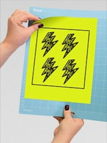 Sticker Paper From Your Sticky Mat