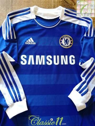 201112 Chelsea Home Football Shirt. (M) | Classic football