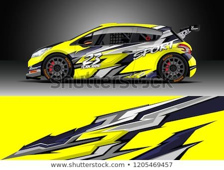 Find Racing car wrap design vector  Graphic abstract stripe